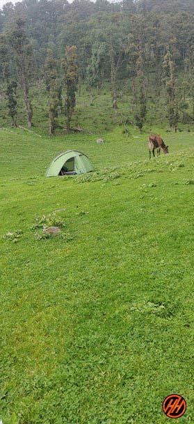 Campsite badhang